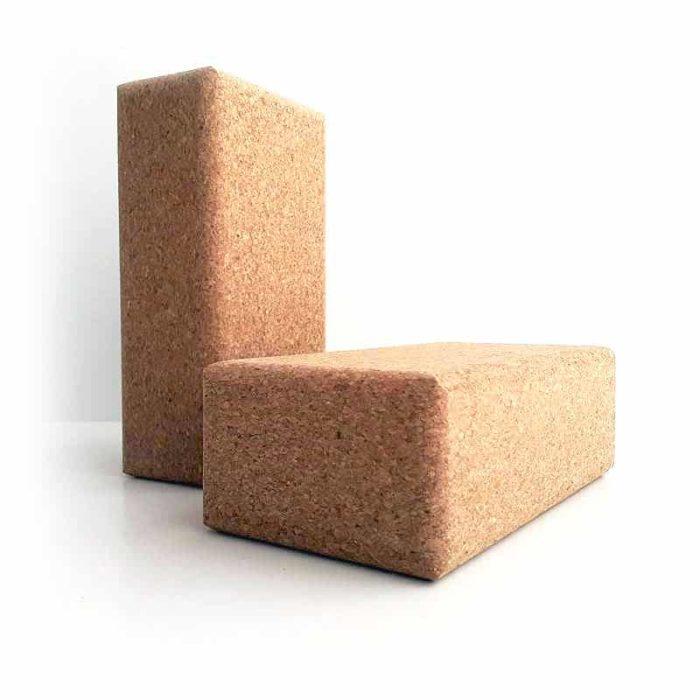 eco-friendly Cork Yoga Blocks for sustainable yoga